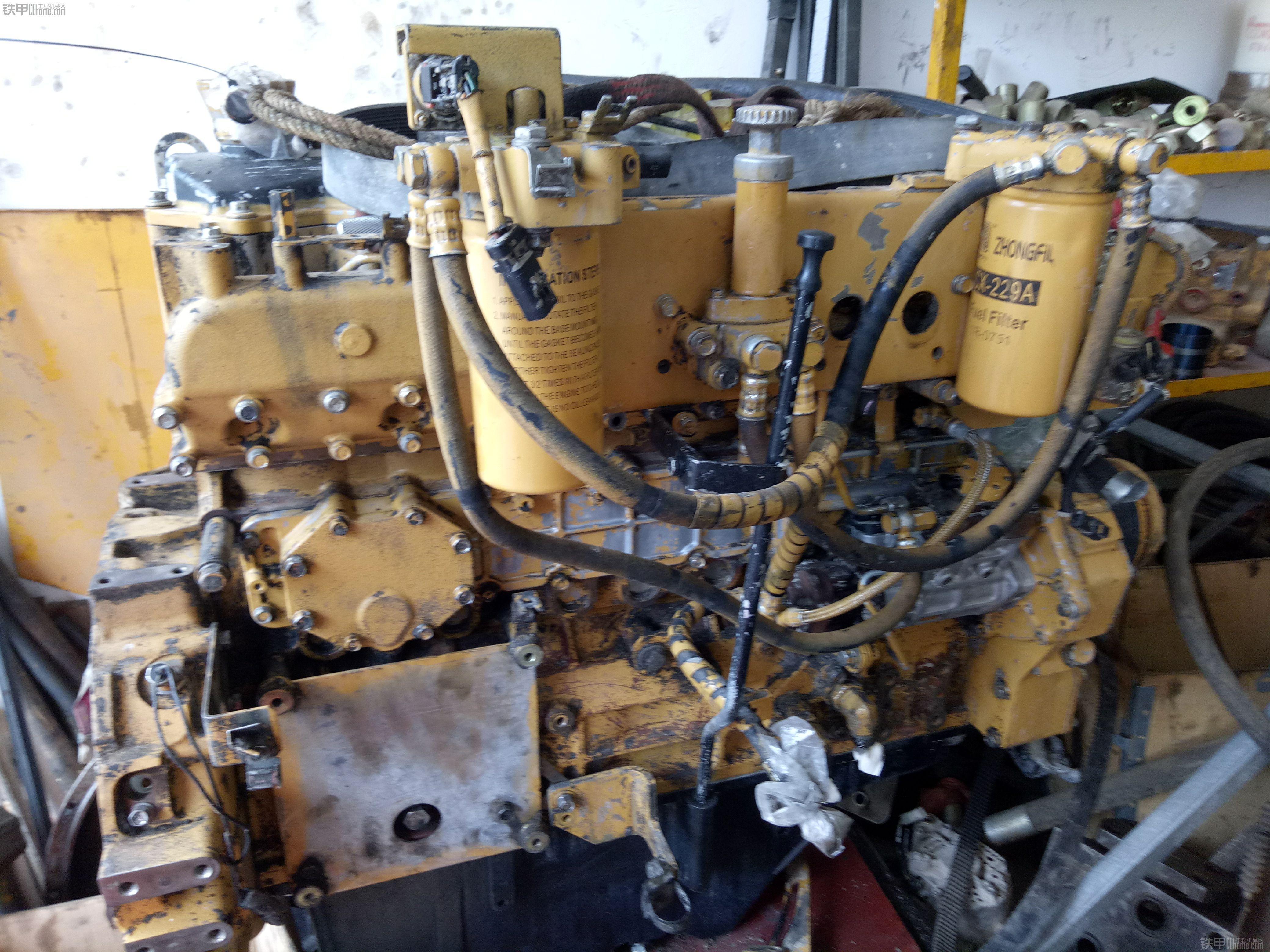 卡特320d电喷发动机