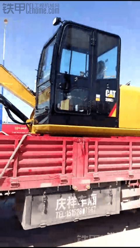 新提卡特彼勒306E2挖掘机  撸起袖子就是干!