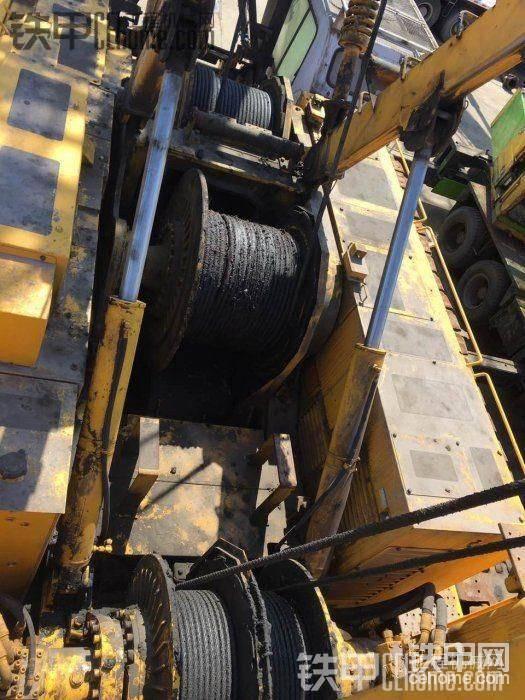 罕见的日立住友200吨履带吊