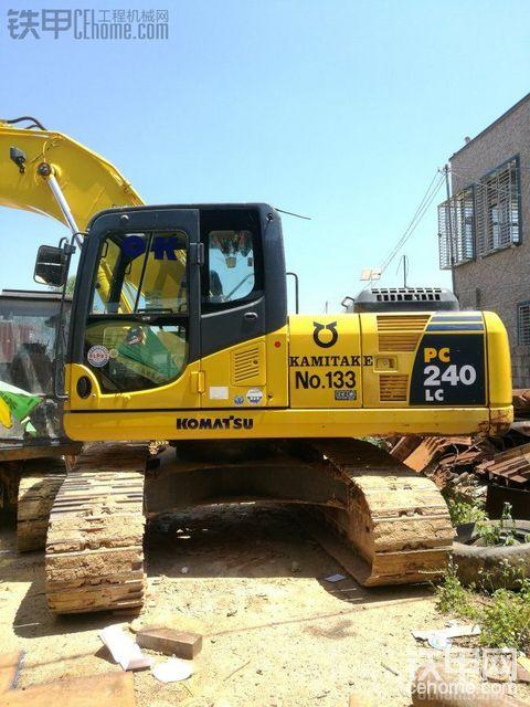二手小松PC200-8挖掘机200小时使用报告