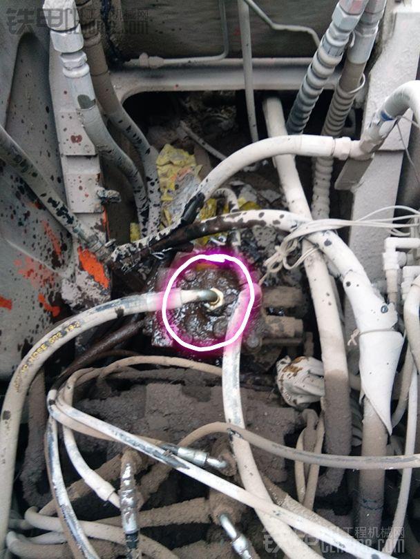 斗山DH150LC-7挖掘机旋转马达维修记(简略版)