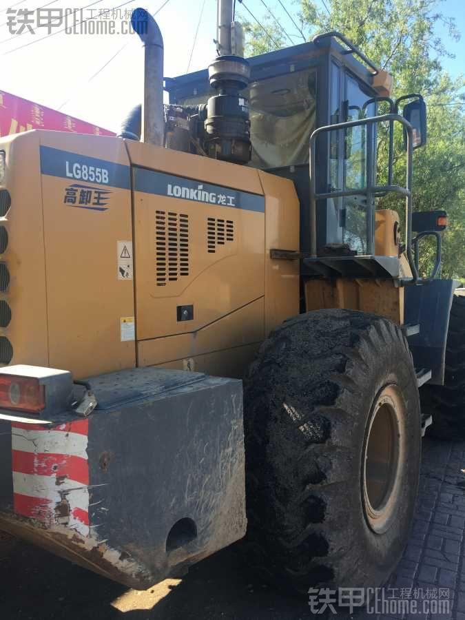龙工855B更换转向油封维修记