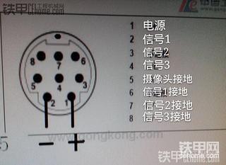傻瓜式教程:小松PC220-8原车显示屏改装摄像头