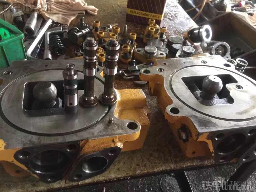 卡特320C液压泵维修