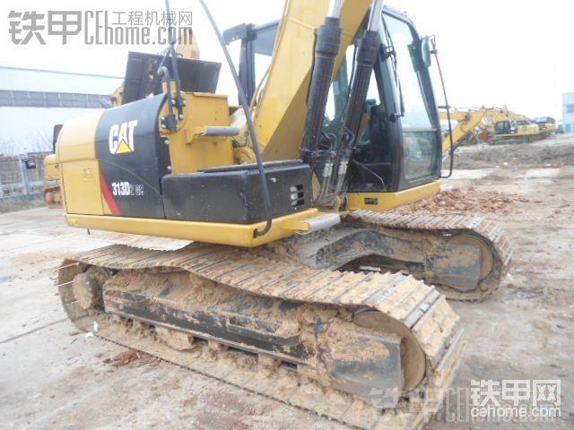 卡特彼勒 313D2GC 二手挖掘机价格 57万 608小时帖子图片
