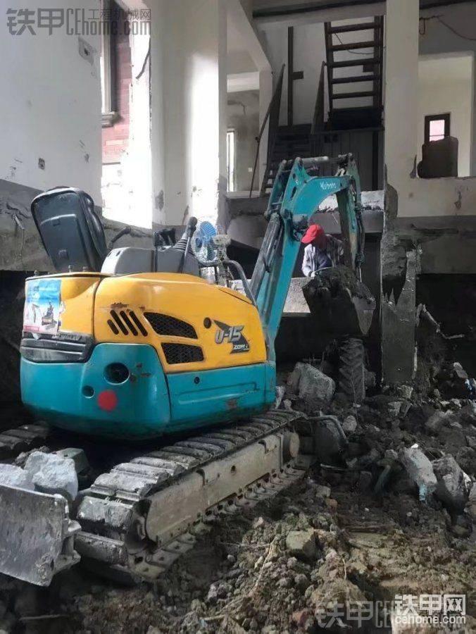 久保田 U15-3S 二手挖掘机价格 12.5万 1500小时帖子图片