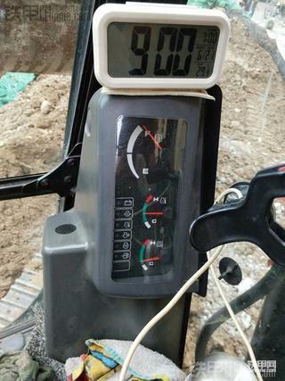 卡特307D挖掘机3000.5小时使用报告