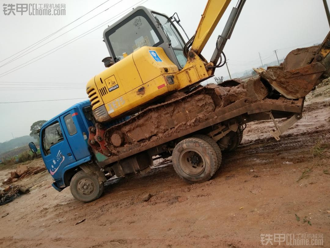 挖掘机板车入手