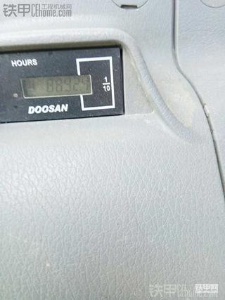 斗山420 一年半8900小时了