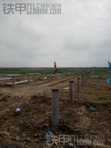 山东招 日立200以上挖机打桩机(7米管桩)司机