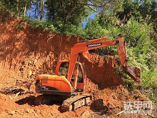 2014年斗山DX80挖掘机3700小时使用报告!