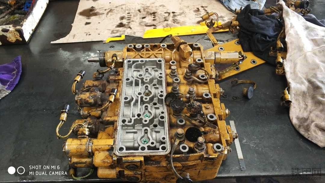 140H变速箱维修