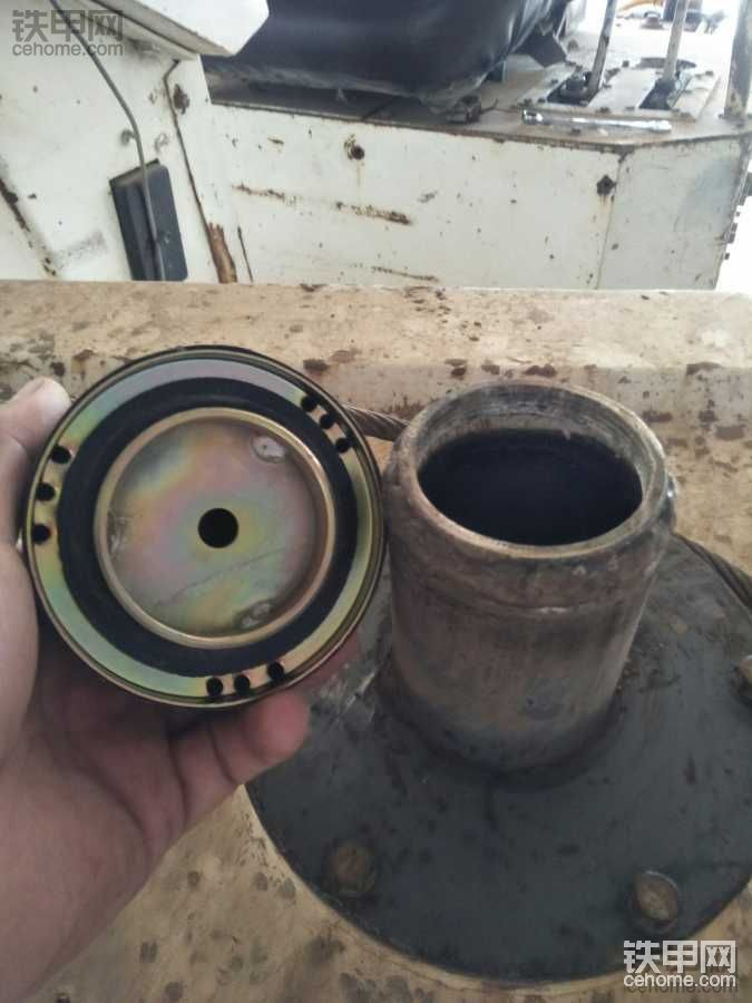 压路机改油箱盖-帖子图片