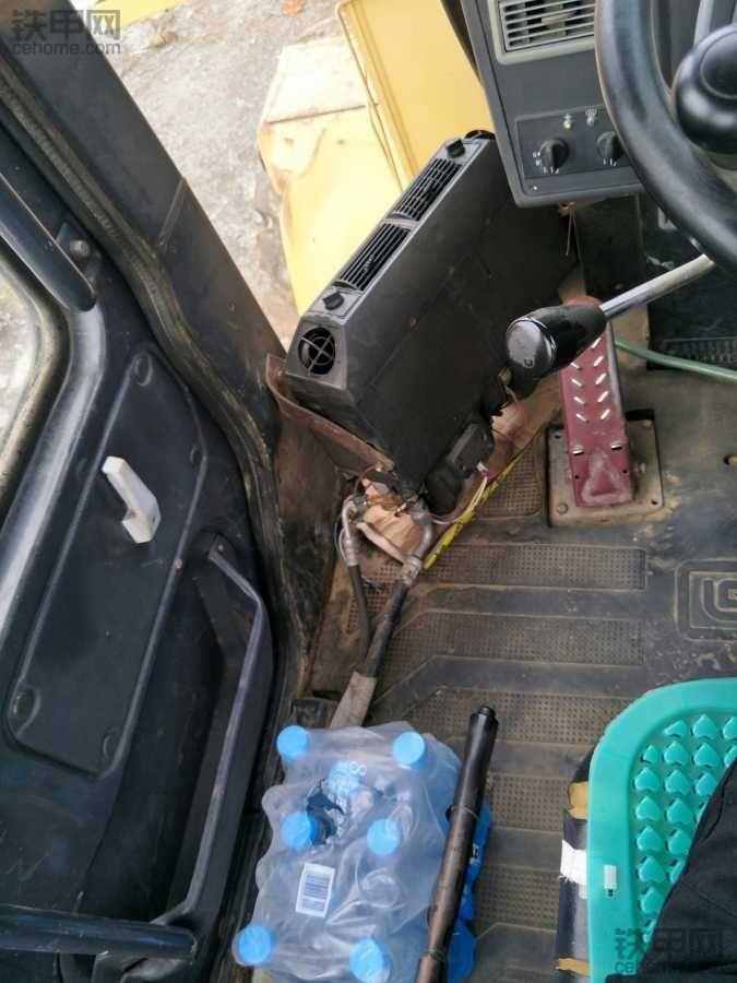 铲车里啥设备都快全了