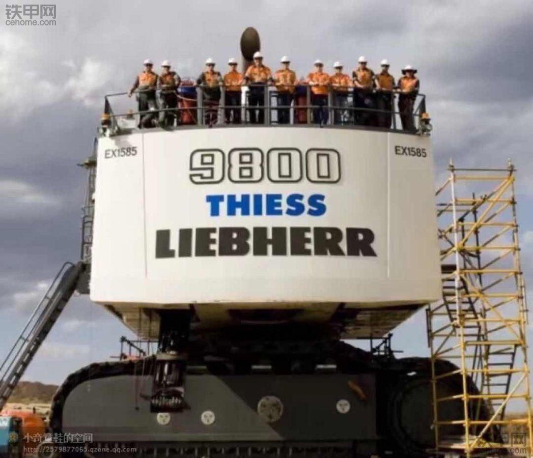 利勃海尔r9800矿用挖掘机
