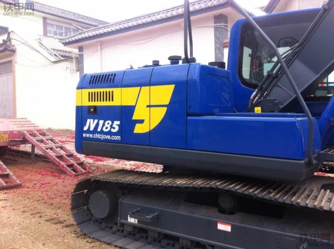 支持国产,国产并不差!提恒天九五JV70挖掘机