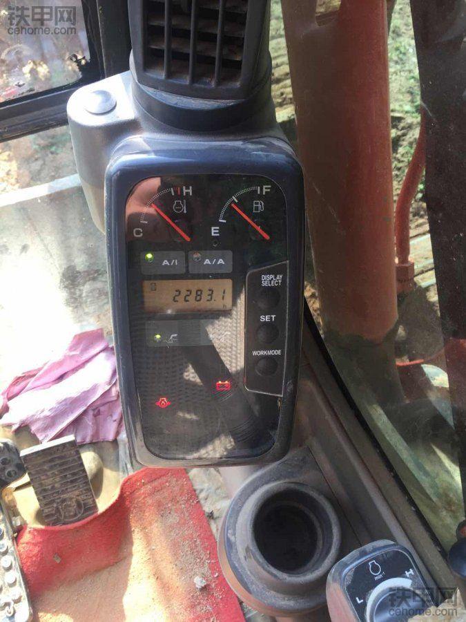 日立ZAXI 60挖掘机5000小时使用报告
