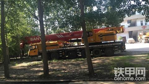三一120吨吊车
