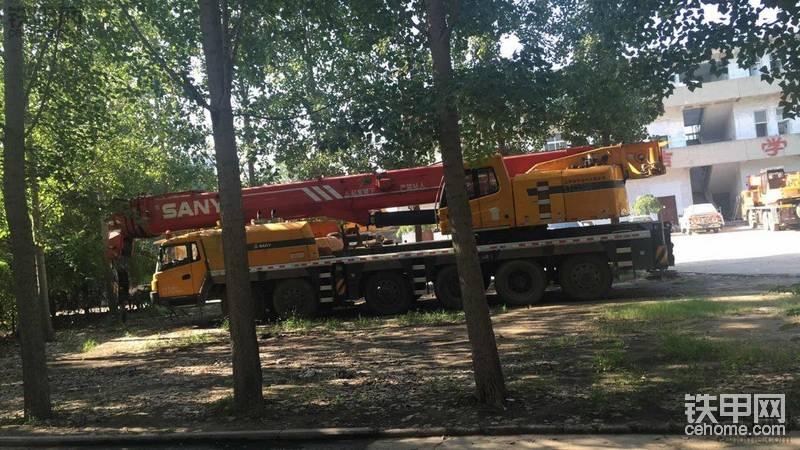 三一120噸吊車-帖子圖片