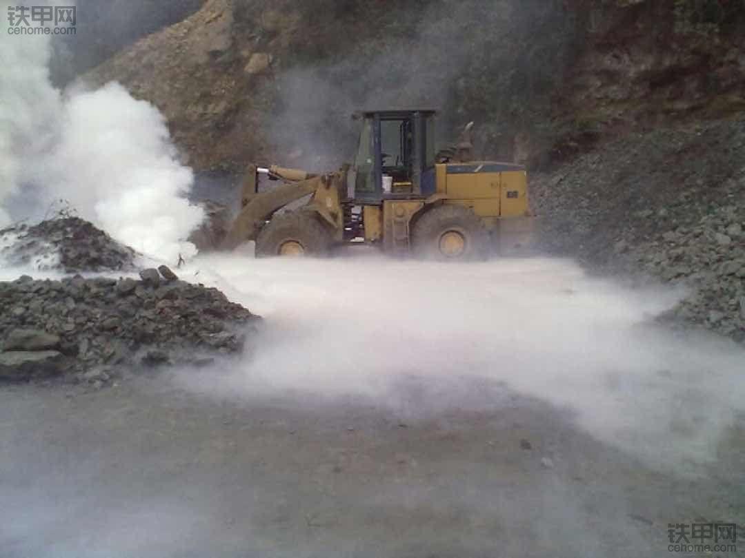 14年烧煤矸石,点火奇景!