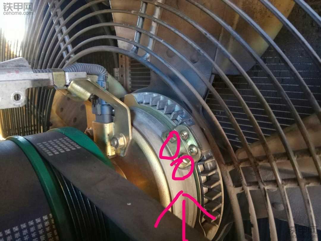 潍柴风扇电磁离合器!