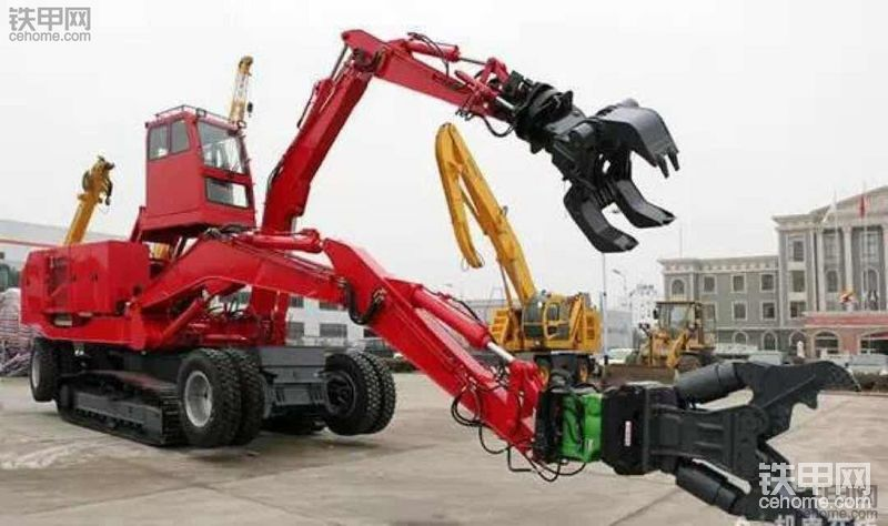 【新三一新起航】中国的双臂挖掘机