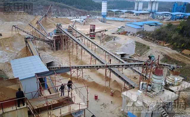 矿山开采,深加工不?采石场需要设备齐全。