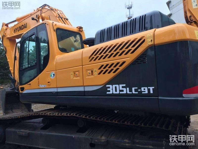 现代 R305LC-9T 二手挖掘机价格 66万 1804小时帖子图片