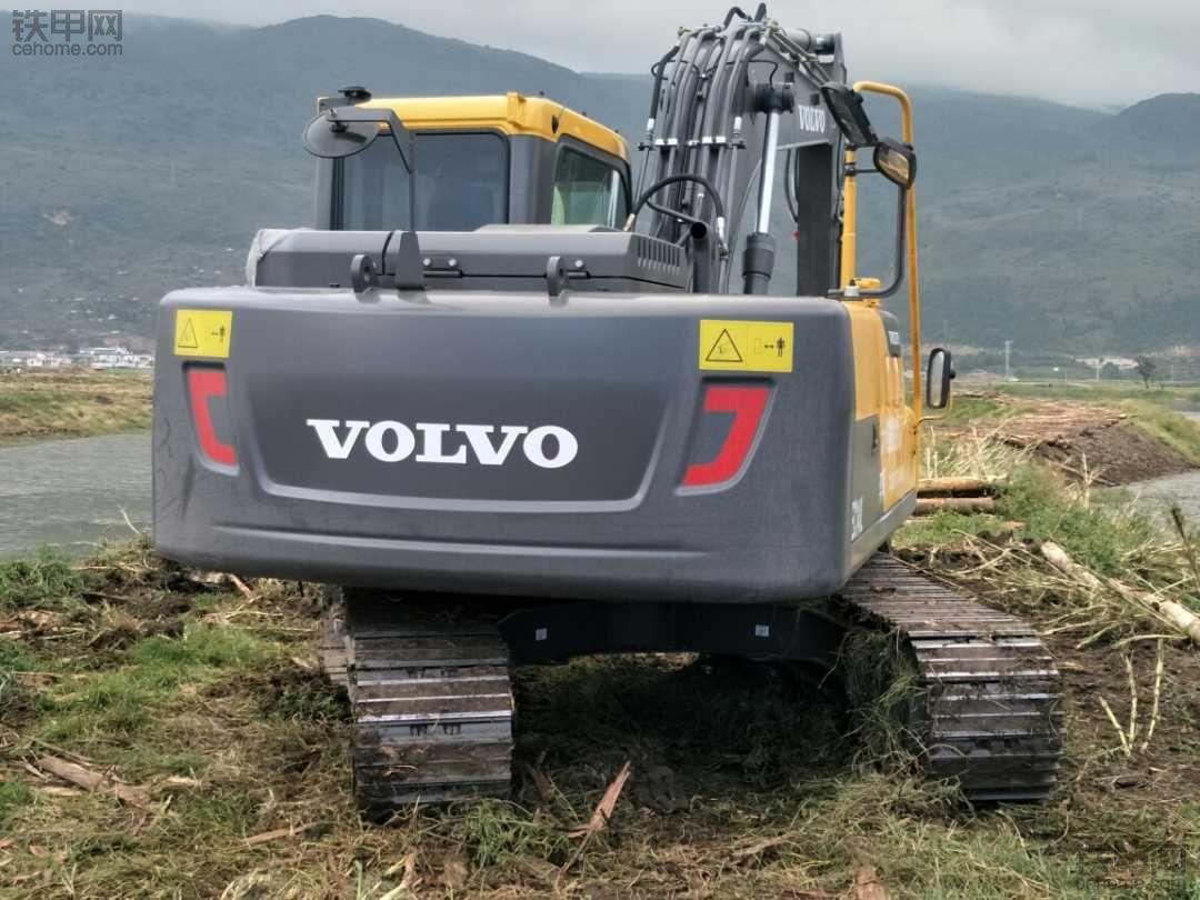 沃尔沃EC120D 已买回来了