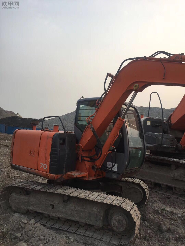 日立 ZX70进口 二手挖掘机价格 18.5万 5000小时