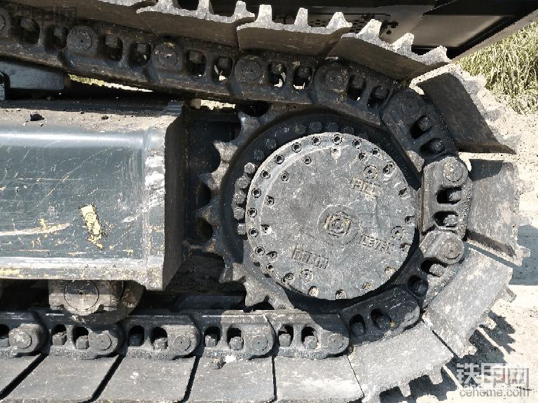 现代R385L VS提车作业