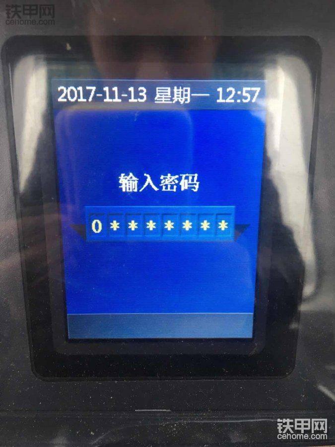 谁知道最新款的SD16TL仪表密码多少