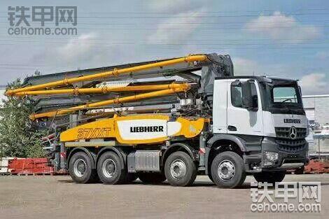 利勃海尔LIEBHERR 37 Z4 XXT泵车