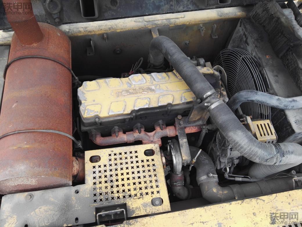 卡特330c的c-9发动机改装五十铃6hk1直喷发动机,怎么改?