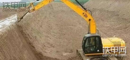 挖机修坡作业方法探讨