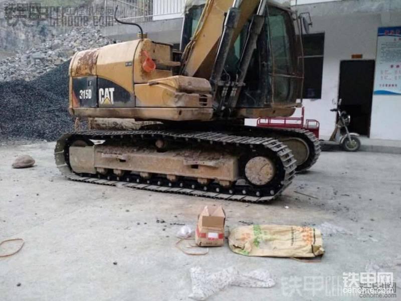 【维修往事】卡特312D挖机7000小时换链筋与使用2000小时报告!