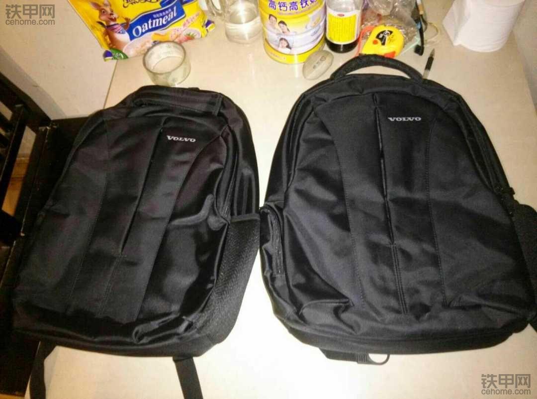 礼品到了,两个背包!感谢铁甲!