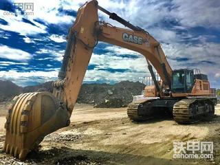 凯斯CX800B ME挖掘机:霸主的传说