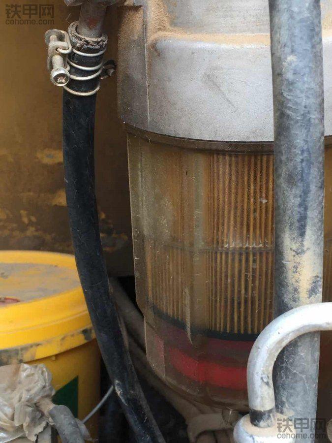 发动机油水分离滤芯里半滤芯油