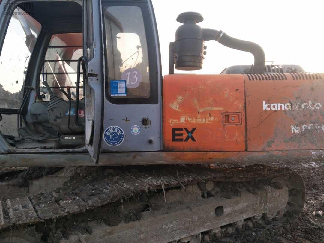 就是省油!日立EX200-5挖掘机使用报告