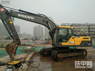 沃尔沃EC210D挖掘机2000使用报告,一天挣2w很轻松