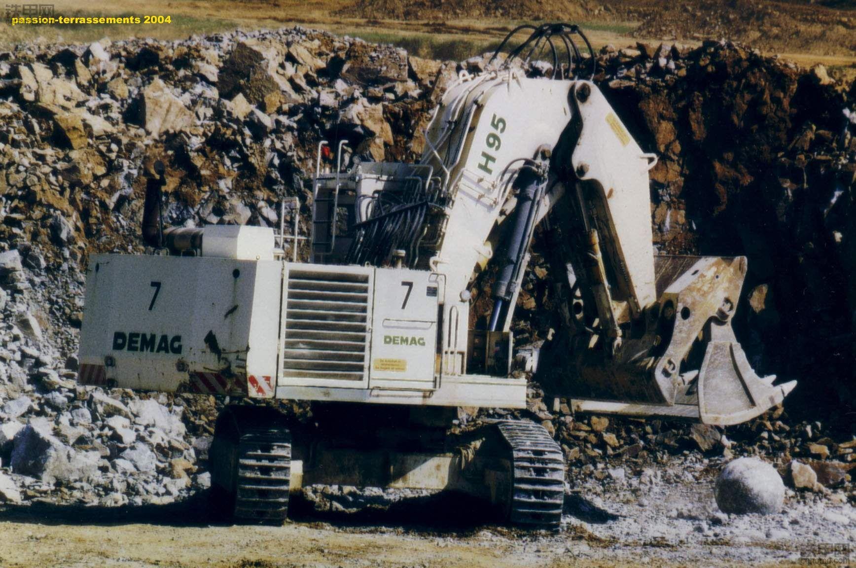 德马格(德马克)H95挖掘机