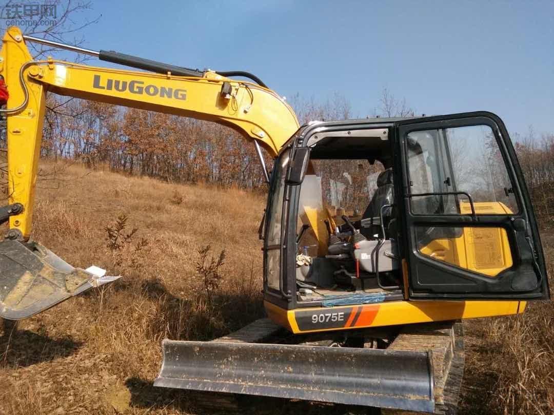 柳工9075E挖掘机 200小时使用报告,投资小回报快