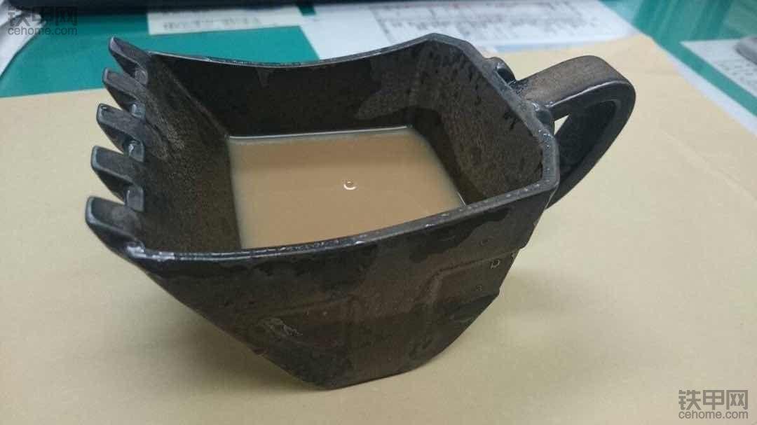 铲斗咖啡杯,你想不想来一个