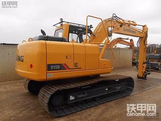 出口版柳工915D挖掘机,威武!