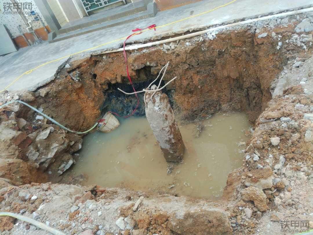他说这种可以挖地基,怎么做