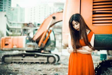 这么多挖掘机美女,你喜欢哪个?我喜欢第8个……