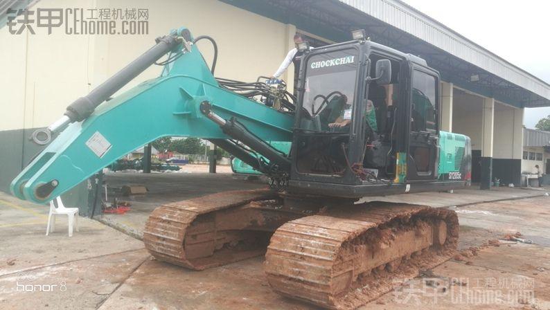 换一种方式赚钱,三一205挖机改装旋挖钻实录,向深度要利润