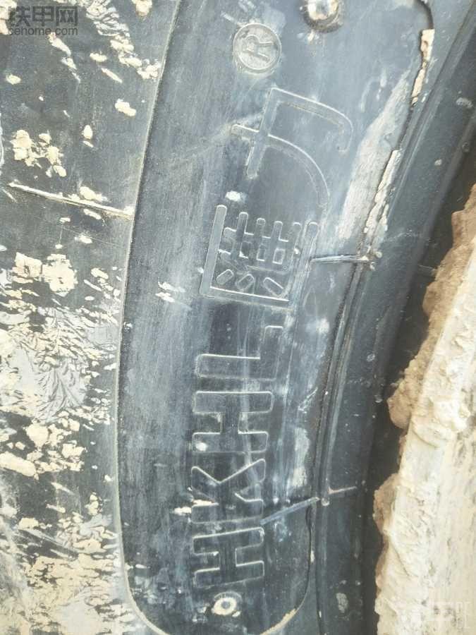 看看这轮胎
