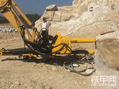 挖掘機改鉆機